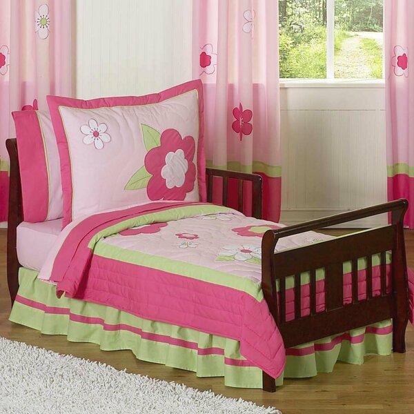 Flower 5 Piece Toddler Bedding Set by Sweet Jojo Designs
