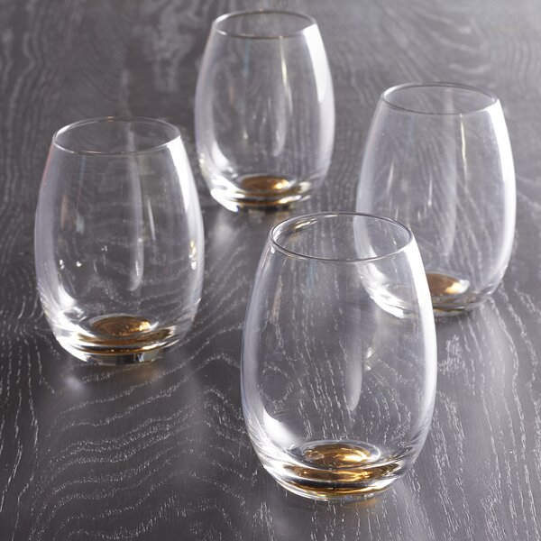 Doppler Crystal Old Fashioned Glass (Set of 4) by Brayden Studio