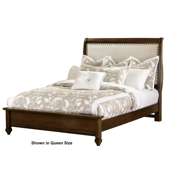 Erving Upholstered Sleigh Bed by Darby Home Co