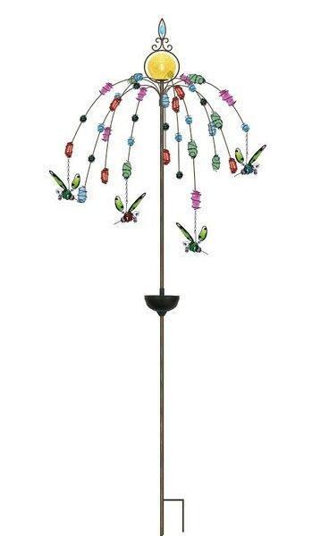 Bird Solar Garden Stake by Continental Art Center