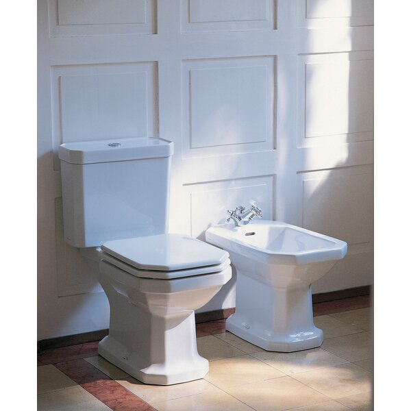 1 28 GPF Water Efficient Elongated Two Piece Toilet [Duravit]