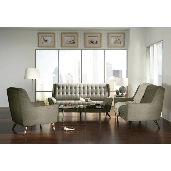 Cardin 3-pcs Living Room Set By Corrigan Studio
