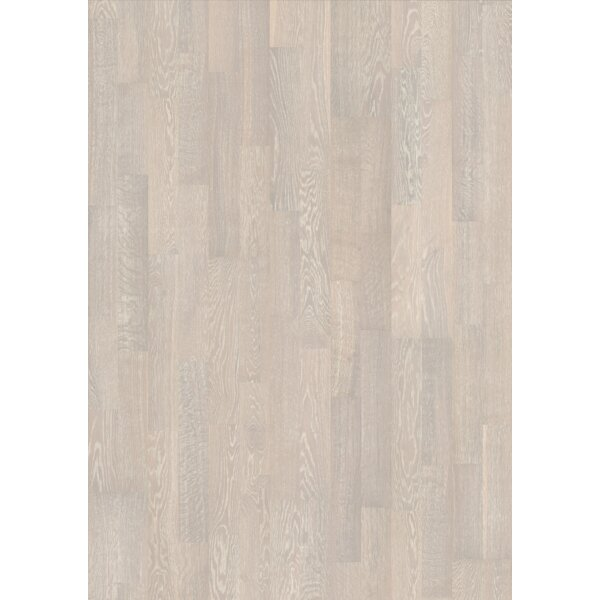 Harmony and Tropical 7-7/8 Engineered Oak Hardwood Flooring in Crème by Kahrs