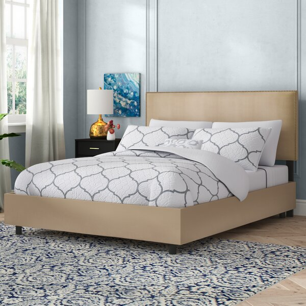 Doleman Upholstered Standard Bed by Willa Arlo Interiors