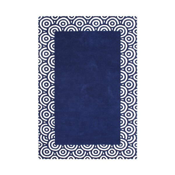 Butte Hand-Tufted Blue Area Rug by The Conestoga Trading Co.