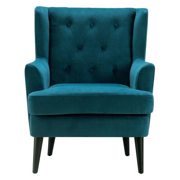 Celeste Wingback Chair by Elle Decor