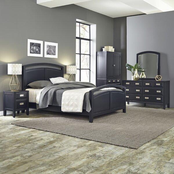 Prescott Queen Panel 5 Piece Bedroom Set by Home Styles