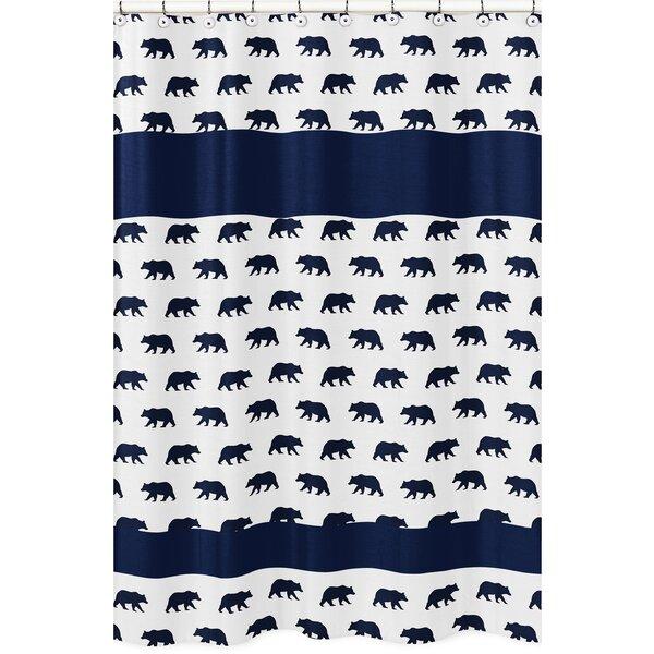 Big Bear Bear Print Shower Curtain by Sweet Jojo Designs