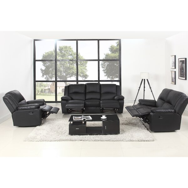 #2 Simpkins Reclining 3 Piece Living Room Set By Latitude Run Design