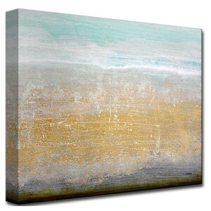 'Off Shore View' by Norman Wyatt Jr. Painting Print on Wrapped Canvas by Ready2hangart