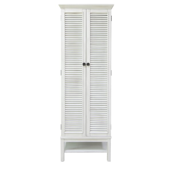 Sol Louvered Armoire by Rosecliff Heights