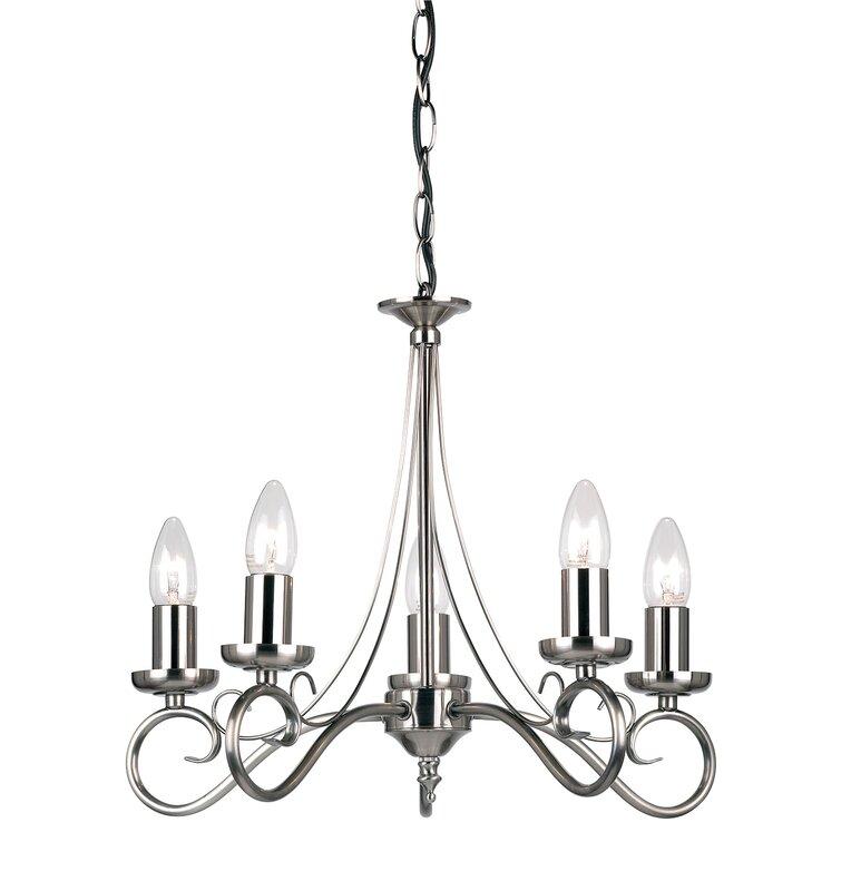 Endon lighting magdet 5 hilal light candle style chandelier magdet 5 hilal light candle style chandelier aloadofball Images