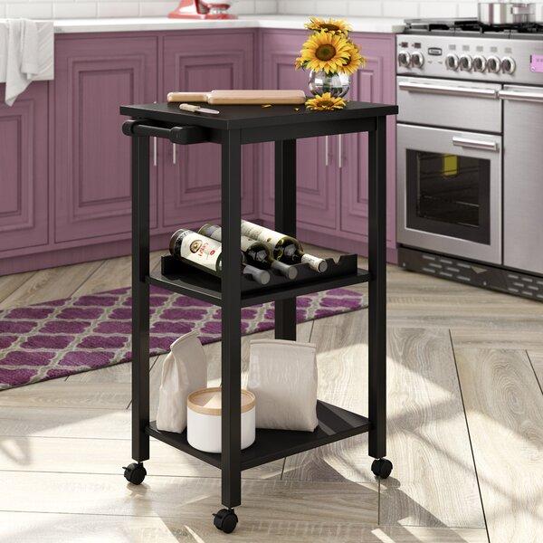 Best #1 Etta Kitchen Cart By Andover Mills Discount