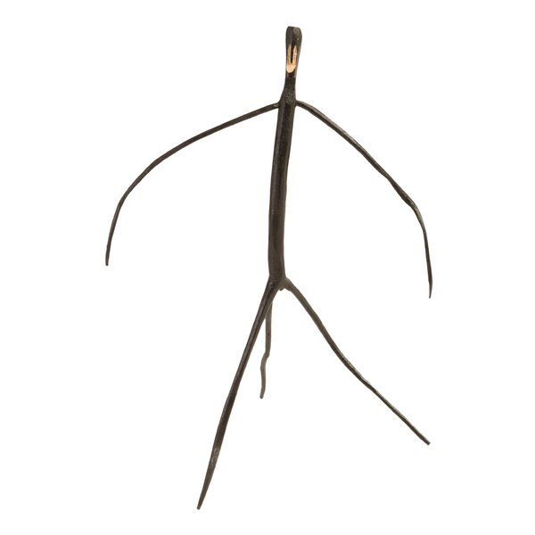 Kurth Abstract Monkey Wood Sculpture by Union Rustic