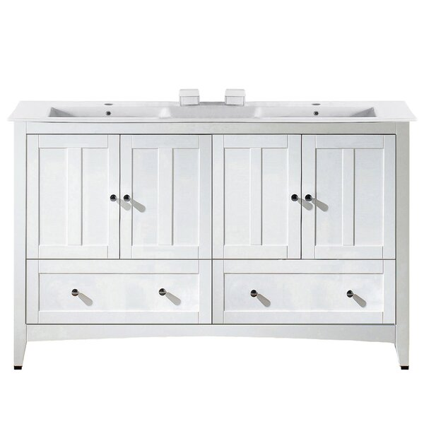 Riordan 59 Double Bathroom Vanity Set by Royal Purple Bath Kitchen