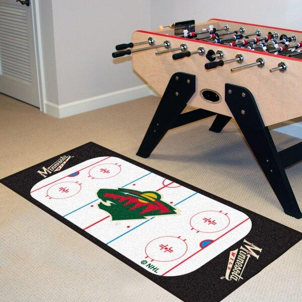 NHL - Minnesota Wild Rink Runner Doormat by FANMATS