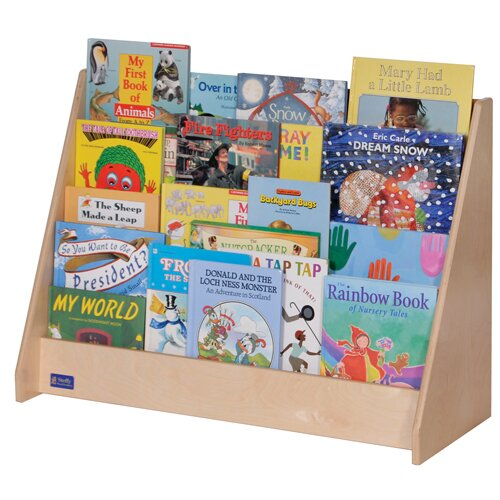 4 Compartment Book Display by Angeles