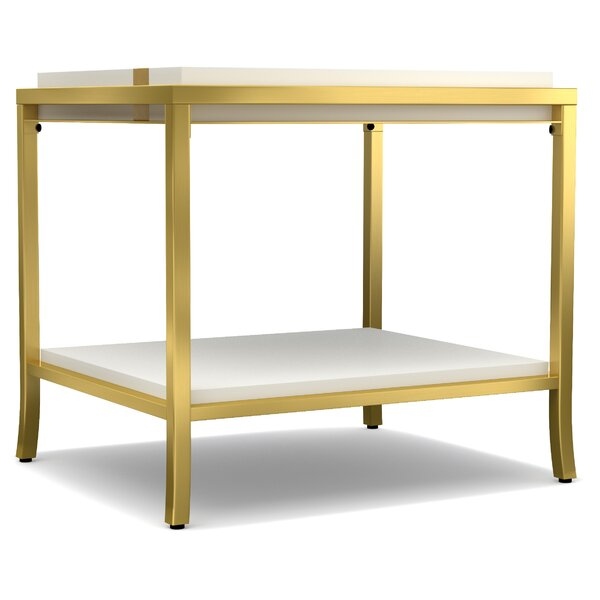 Silberman End Table By Everly Quinn