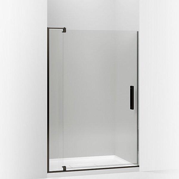 Revel 48'' x 74'' Pivot Shower Door with CleanCoat® Technology by Kohler