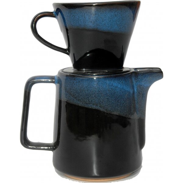 Stovetop Coffee Maker (Set of 3) by Always Azul Pottery