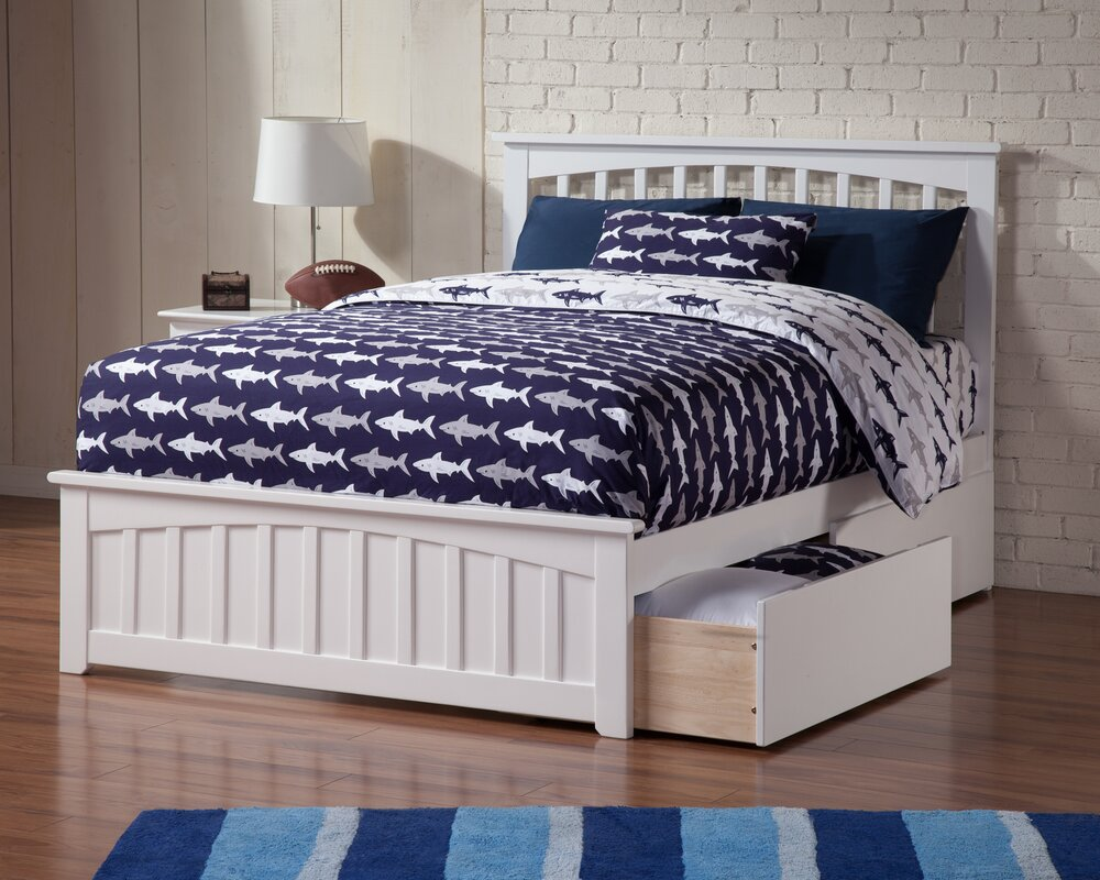 Rhonda Storage Platform Bed By Viv Rae