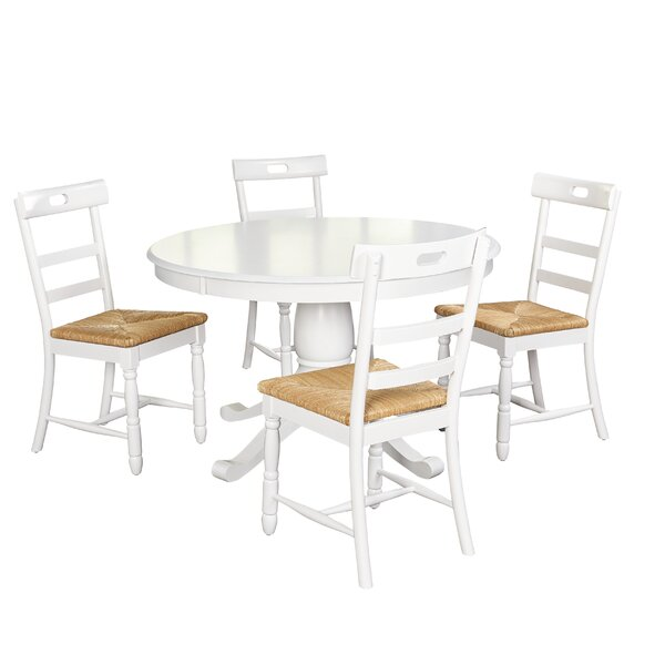 Pollmann 5 Piece Dining Set by August Grove