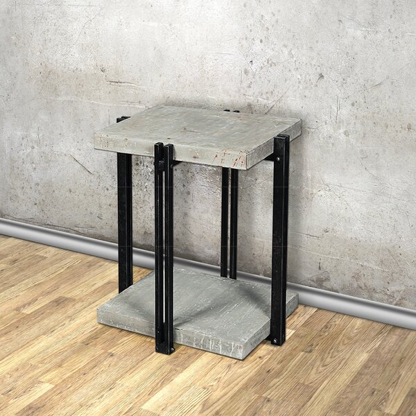 CalceFerro End Table by Empire Art Direct