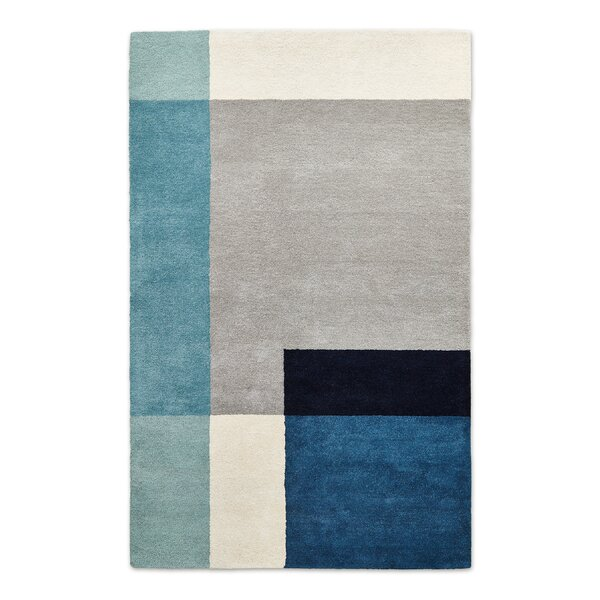 Element Tofino Hand-Tufted Wool Blue Area Rug by Gus* Modern