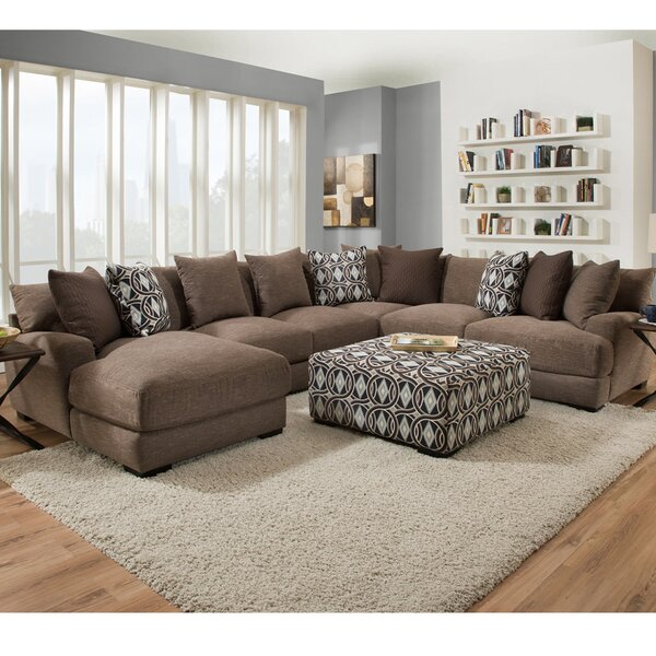 Modern Style Ashanti Sectional by Latitude Run by Latitude Run