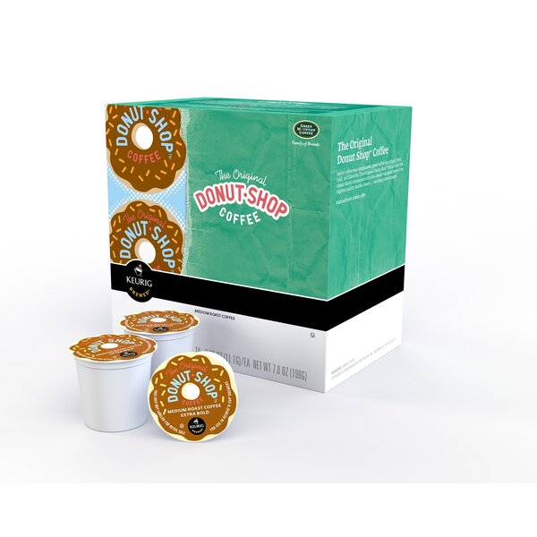 Coffee People Donut House K-Cup (Pack of 72) by Keurig