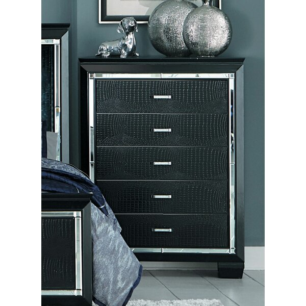 Sharla 5 Drawer Chest by House of Hampton