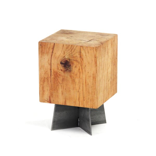 Cuyler Stained Accent Stool by Foundry Select