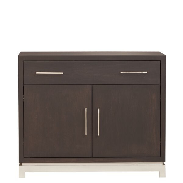 Classic Contemporary 1 Drawer Nightstand by Urbangreen Furniture