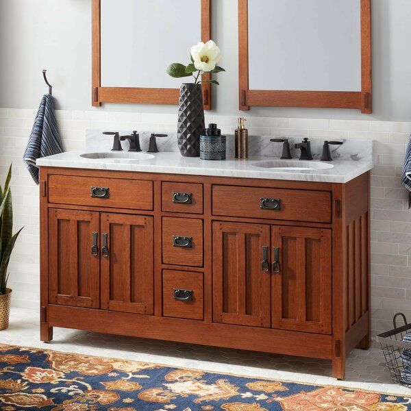 American 61 Double Bathroom Vanity Set