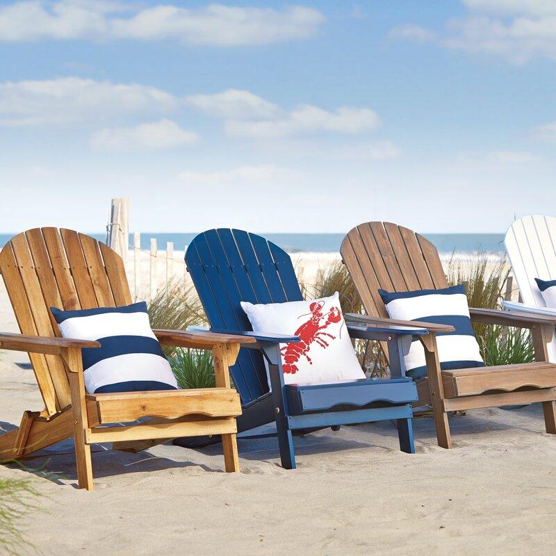 Delightful Ridgeline Foldable Adirondack Chair