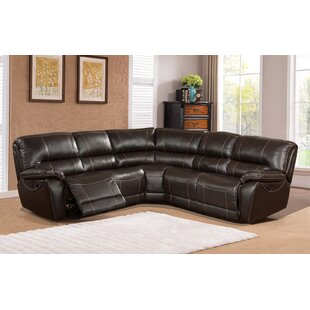 Winkelman Leather Reclining Sectional