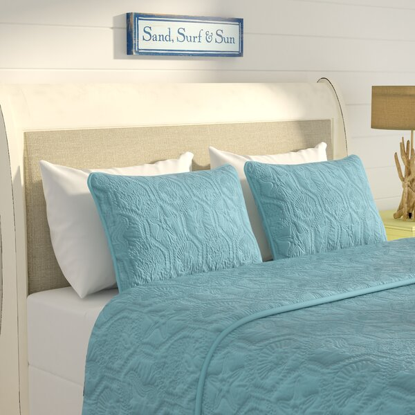 Sneads 3 Piece Quilt Set by Beachcrest Home