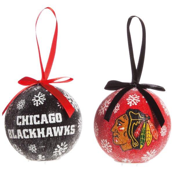 NHL LED Boxed Ornament Set by Team Sports America