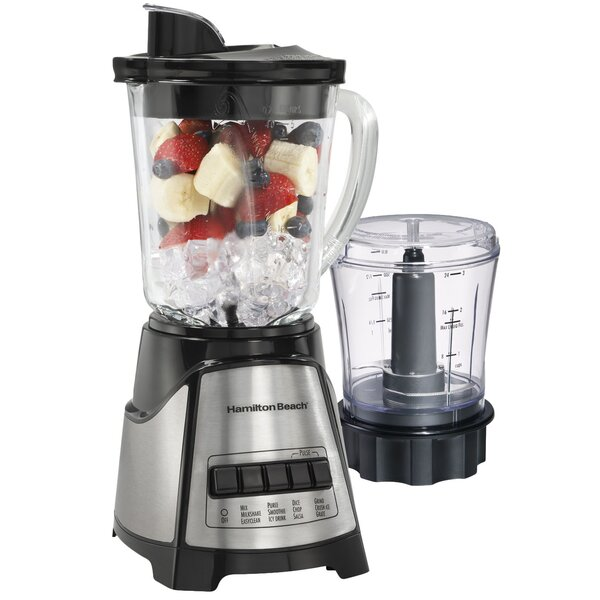 Power Elite Blender & Chopper by Hamilton Beach
