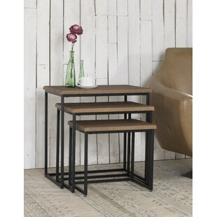 Norma 3 Piece Nesting Tables by Gracie Oaks