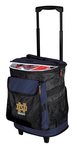Collegiate Rolling Cooler - Notre Dame by Logo Brands