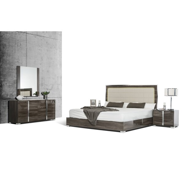 Demaria Platform 5 Piece Bedroom Set by Orren Ellis