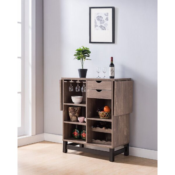 Delron Wine Bar Cabinet by Union Rustic Union Rustic