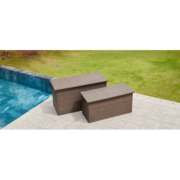 Wicker Deck Box by Direct Wicker Direct Wicker
