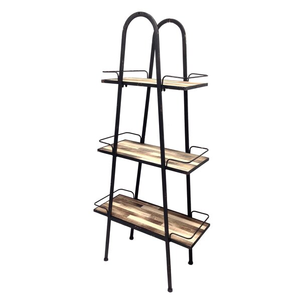 Lumberton Etagere Bookcase by Wilco Home
