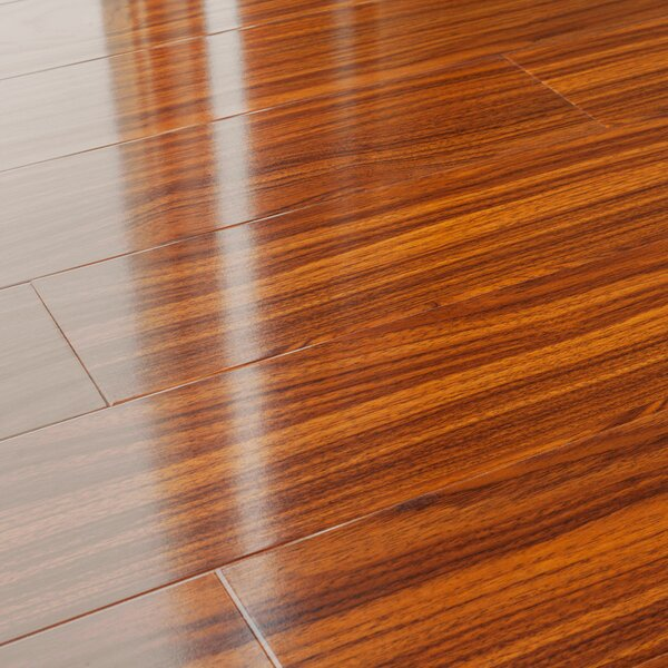 5 x 48 x 12mm Pine Laminate Flooring in Walnut Brown by Kronoswiss