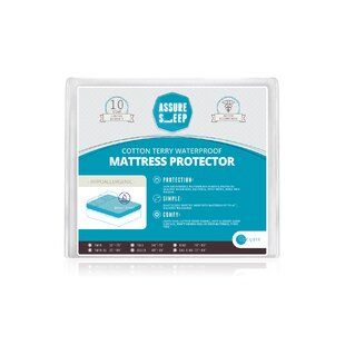 Assure Sleep Terry Hypoallergenic Waterproof Mattress Protector By LaCozee