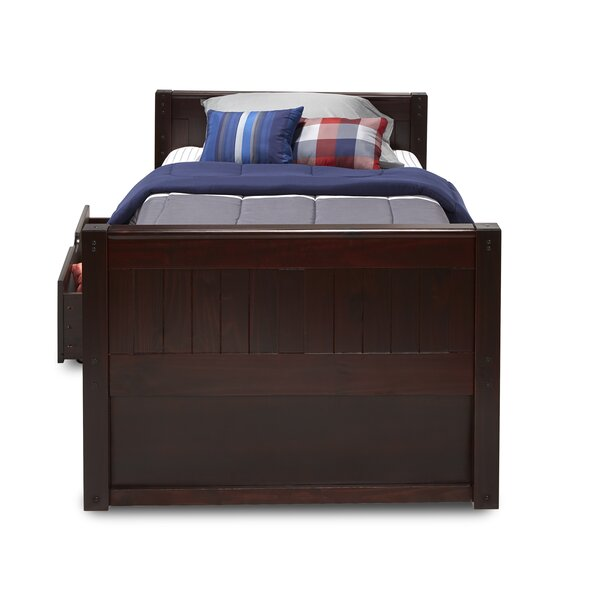 Rabon Twin Platform Bed with Drawers by Harriet Bee