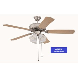Read Reviews 52 Greenbrier Valley 5-Blade Ceiling Fan By Winston Porter