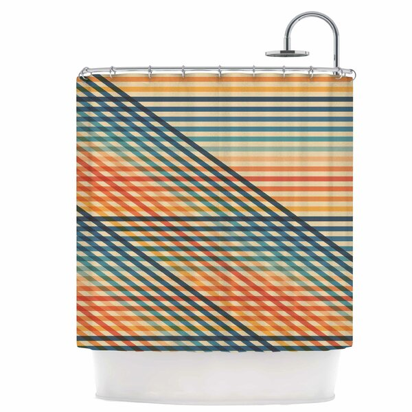 Ovrlaptoo Shower Curtain by East Urban Home